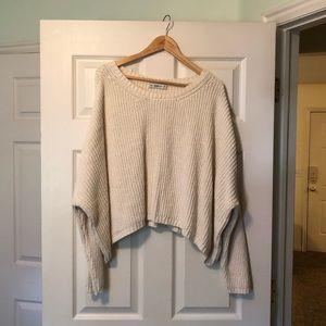 ZARA oversized knit sweater size S